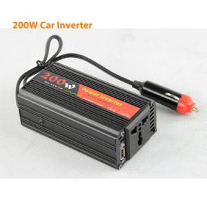 DC12V/24V Solar Car Power Inverters 200watt AC220V pictures & photos