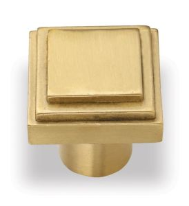 Gold Plated Copper Handle Knobs for Kitchen Cabinet Drawer pictures & photos