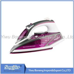 Electric Steam Generator Iron Sf-2838 Electric Iron with Ceramic Soleplate (Purple) pictures & photos