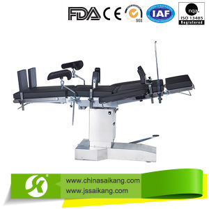 Adjustable Hospital Radiolucent Operating Table pictures & photos