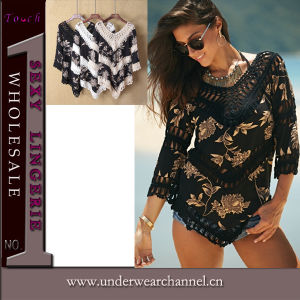 Sexy New Design Fashion Women Top Beachwear Top (TKYA753) pictures & photos