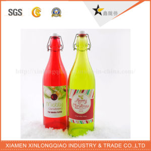 Custom Label Speical Festival Brand Logo Bottle Paper Printing Sticker pictures & photos