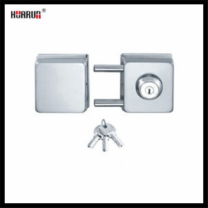 Square-shaped Sliding glass door Double lock HR1167&HR1166 pictures & photos