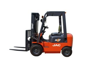 Professional Supplier of Diesel Forklift 1ton pictures & photos