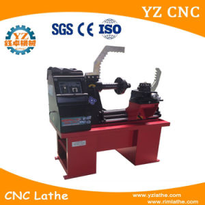 Hydraulic Pressure Rim Straightening Machine with Lathe pictures & photos