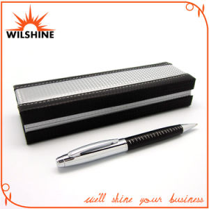 High Quality Leather Ball Pen for Custom Gift Set (BP0036A) pictures & photos