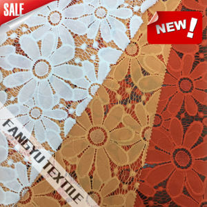 Popular Flower Lace Fabric in Summer