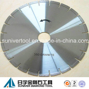 "14"" Laser Welding Diamond Granite Saw Blade (SUGSB) pictures & photos"