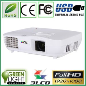 Made in China 3000 Lumens Digital 3LED 3 LCD Home Cinema LED Projector pictures & photos