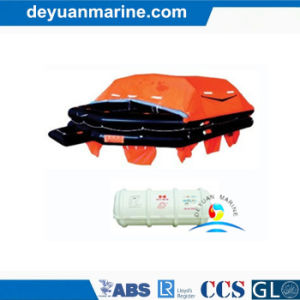 CCS Approved Marine Throw Over Board Inflatable Life Raft pictures & photos