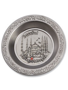 Istanbul Souvenir Metal Plate for Gift (SP2106) pictures & photos