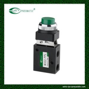 Green Push Button Valve Airtac Pneumatic Mechanical Valve M3b pictures & photos
