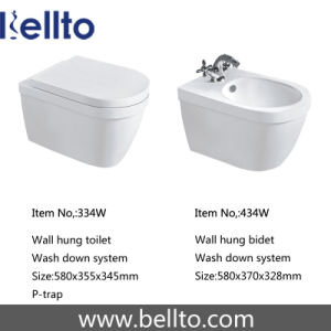 Wall Hung Bathroom Bidet of Sanitary Ware (419W) pictures & photos