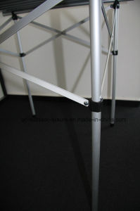 Aluminum Square Folding Table (with round edges) pictures & photos