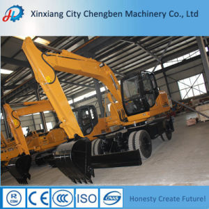 Large Capacity Wheel New Excavator Price for Construction Equipment pictures & photos