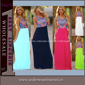 Woman Cocktail Formal Evening Prom Maxi Beach Casual Dress (TONY6809) pictures & photos