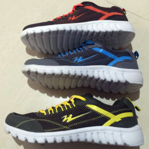 Selling Bottom Price Stock Men′s Sports Shoes Sneaker (20160404-3) pictures & photos