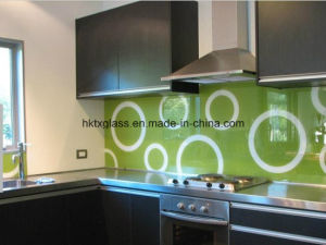Australian Standard Painted Glass with AS/NZS 2208: 1996 and En12150 Certificate (TX-0807) pictures & photos