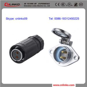 IP67 2pin Power Connector/2pin Male Plug pictures & photos