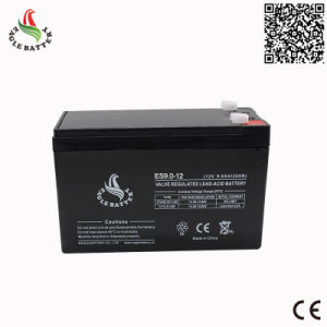 12V 9ah Rechargeable Lead Acid Battery for UPS System pictures & photos