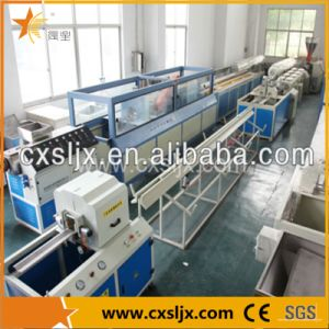 16-50mm PVC Double Pipe Extruding Line Ce Certificated pictures & photos