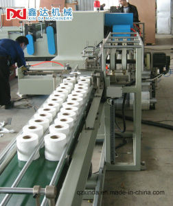 Full Automatic Slitting Toilet Paper Towel Rolls Machine Production Line pictures & photos