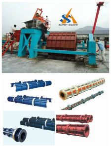 Cement Pipe and Concrete Pole Making Machine pictures & photos