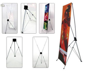 Korean Stype Strong Foldable Promotion X Banner pictures & photos