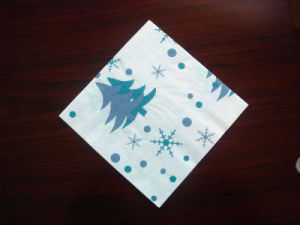 Special Customized Printed Napkin for Christmas