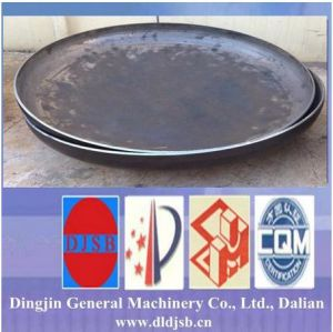 Carbon Steel Torispherical Head for Pipe Fitting Cap Made by Dingjin pictures & photos