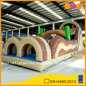PVC Inflatable Obstacle Course Race Obstacle Course Challenge Indoor for Sale (AQ14128) pictures & photos
