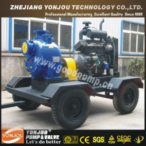 Engine Driven Dewatering Pump with Trailer pictures & photos