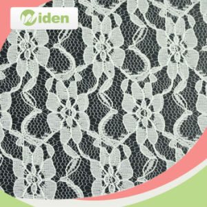 Factory Direct 150 Cm Black Color Nylon Italian Lace Fabric pictures & photos
