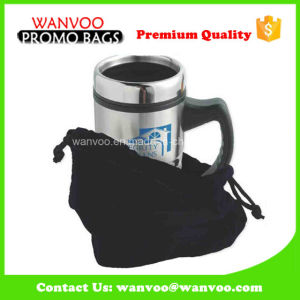 Vacuum Cup Protect Velvet Drawstring Lunch Bag for Packing pictures & photos