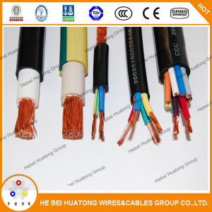 Ce Certified H07rnf H05rnf H07rrf H05rrf 3 Core 4 Core 5 Core Flexible Rubber Cable pictures & photos