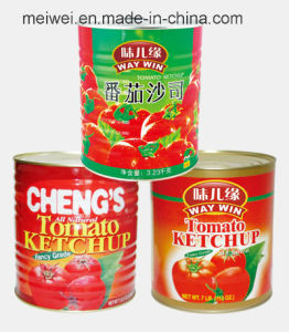 High Quality 3230g Canned Tomato Ketchup pictures & photos