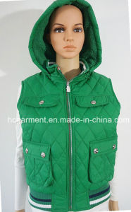 Warm Winter Muliti Pockets Jacket/Waistcoat for Women/Lady pictures & photos
