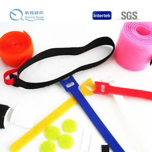 Custom High Quality 100% Nylon Tape Hoop and Loop pictures & photos