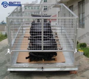 8X5 Fully Welded Hydraulic Tipper Trailer (SWT-HTT85) pictures & photos