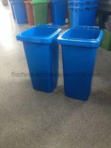 Eco-Friendly 120L/240L Plastic Waste Bin with Two Wheels pictures & photos