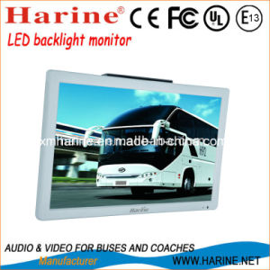 21.5 Inch Bus Video Display LCD Monitor Car TV pictures & photos