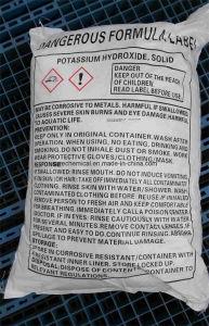 White Flake 90% KOH Potassium Hydroxide pictures & photos