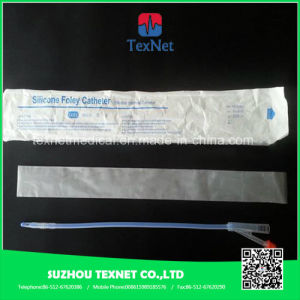 Disposable Silicone Foley Catheters (Two-Way, Three-Way) pictures & photos