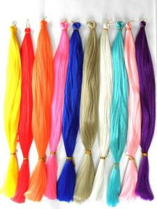 Ombre Two Tone Coloured 100% Kanekalon Mono Braid Synthetic Hair Extension Lbh 096 pictures & photos