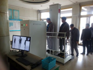 Double Channel Full Screening System X-ray Body Scanner pictures & photos