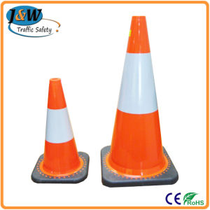 European Standard PVC Plastic Traffic Safety Cone pictures & photos