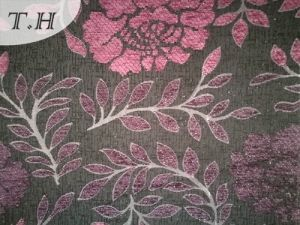 Soft and Elegant Chenille Jacquard Sofa Fabric in Best Price pictures & photos
