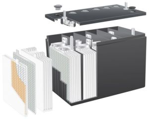 Fiberglass AGM Barttery Separator pictures & photos