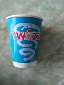 Double PE Cold Drink 16oz Printed Paper Cup pictures & photos