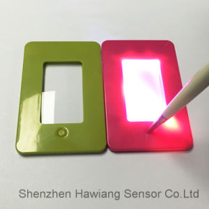 Mini Magnifier with LED Lighting for Printing (HW-212X) pictures & photos